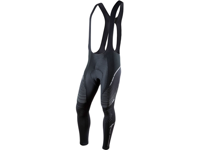 UYN Biking Alpha OW Bib Pants Lang Heren, blackboard/pearl